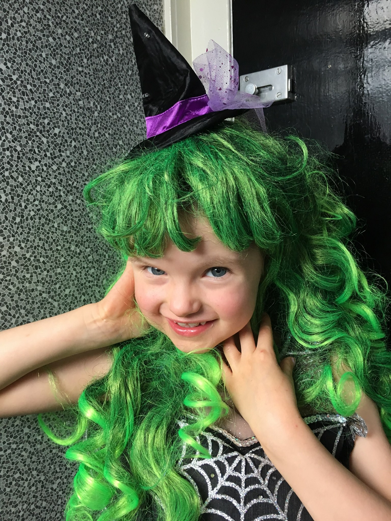 Green hair - Don't care!!