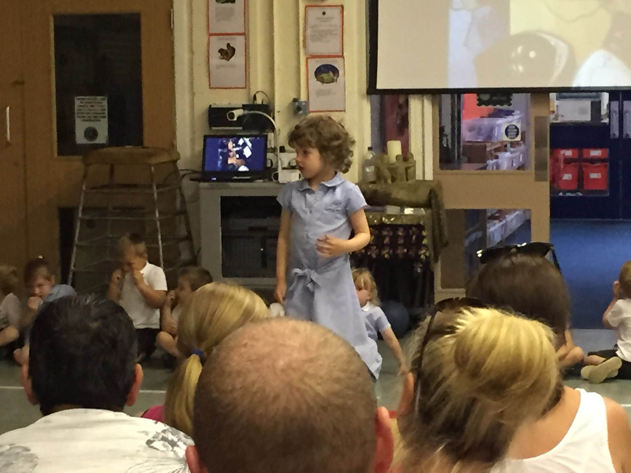 Nursery - Mrs Platt - end of year assembly.