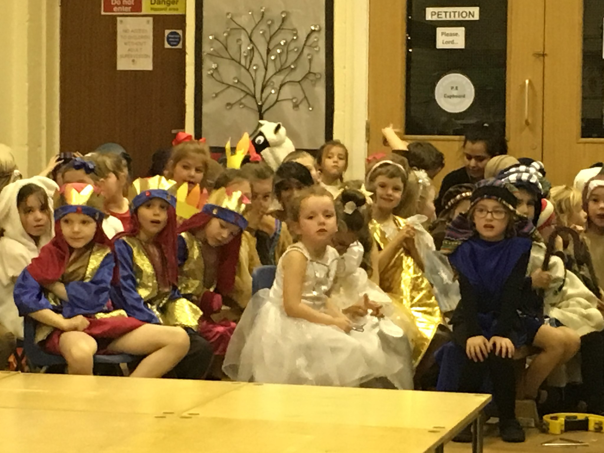 Nativity - year one - an angel.
