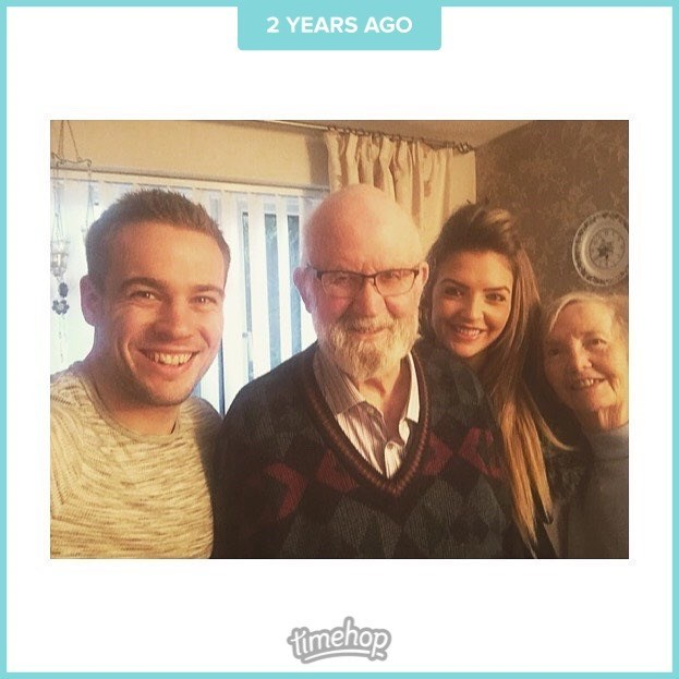 This came up on my timehop today Nanna, when me & Ben came to visit you & Grandad ???? Xxxx