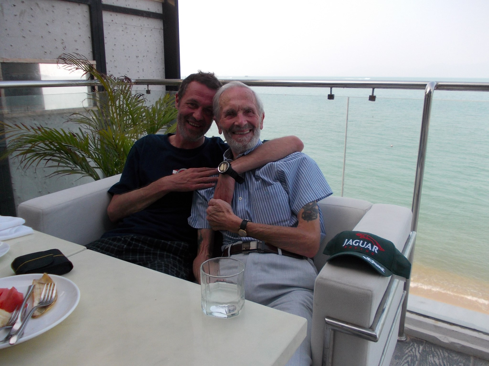 Dad and me in Koh Samui