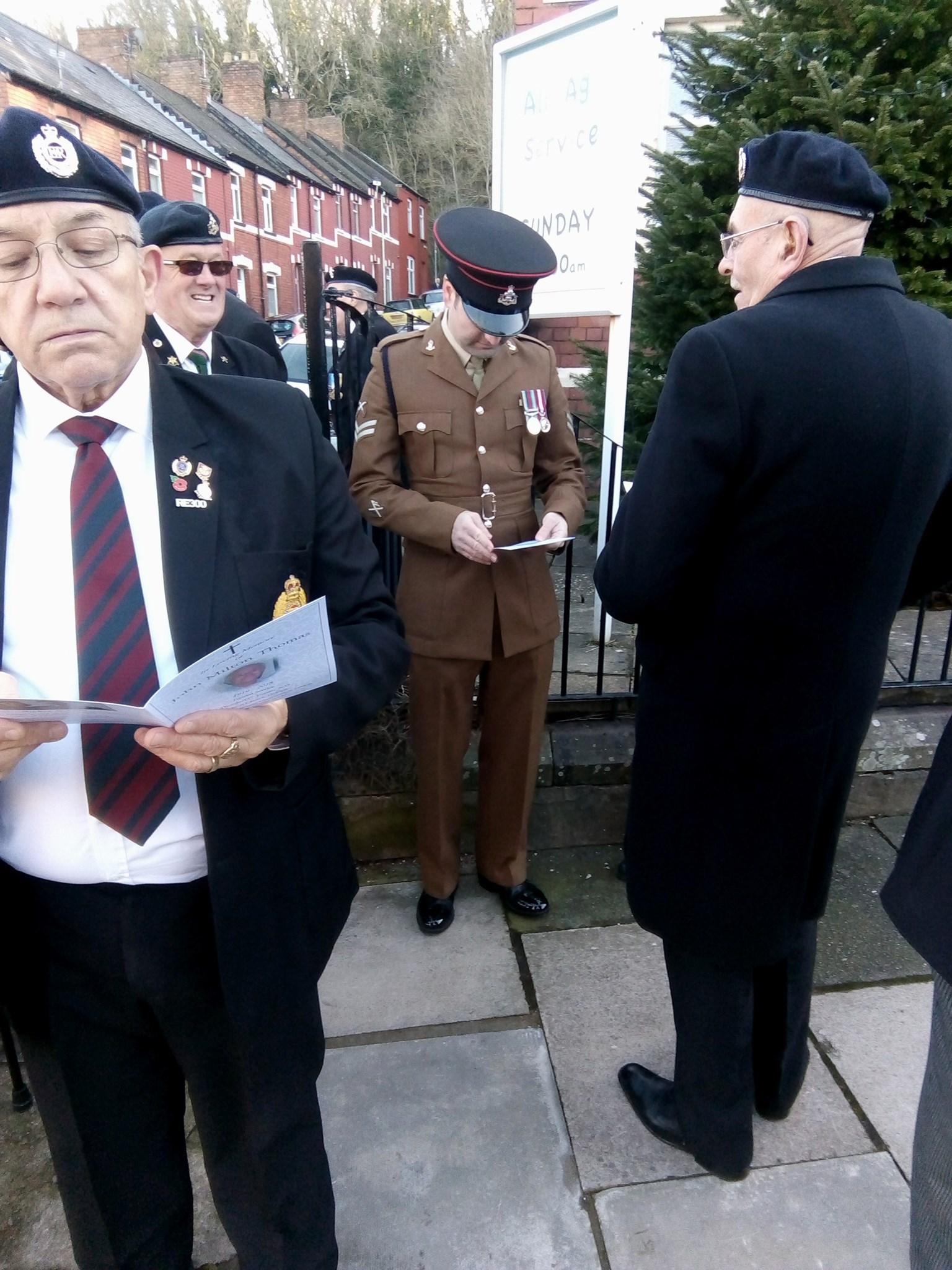 Representation from CADESA, The Royal Monmouthshires, and Cardiff Veterans Association