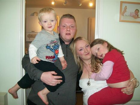 Daniel and his family. xxx