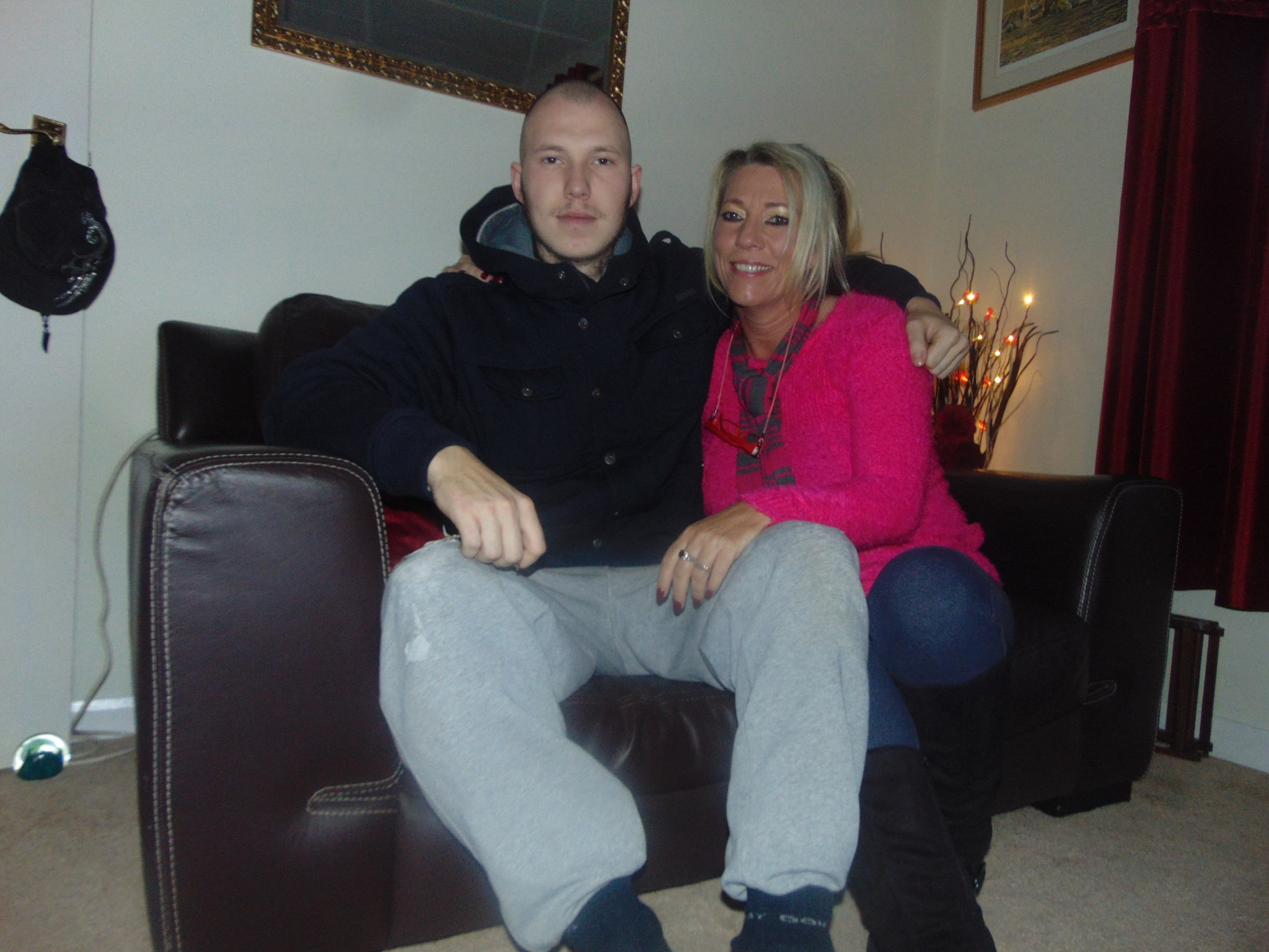 Mummy and Jamie... We miss you and love you xxx