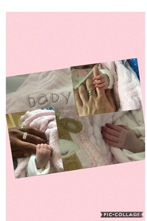 Mummy daddy and aysha first ever touch of hands 💔