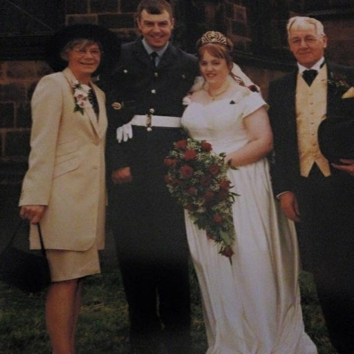 Our wedding day 21/6/2002
