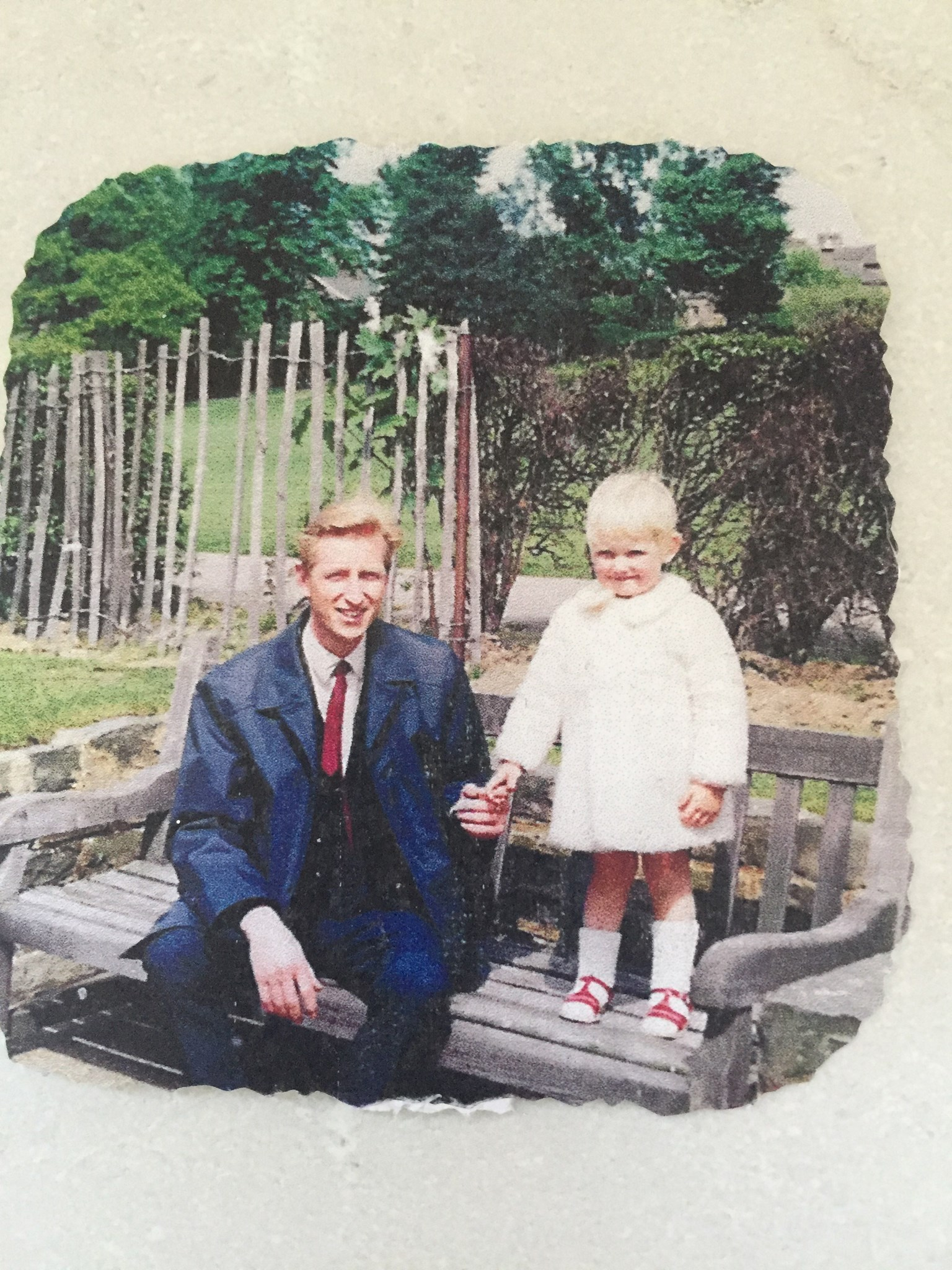 Thinking of you today and always Daddykins, all my love Angie Pangie xxx