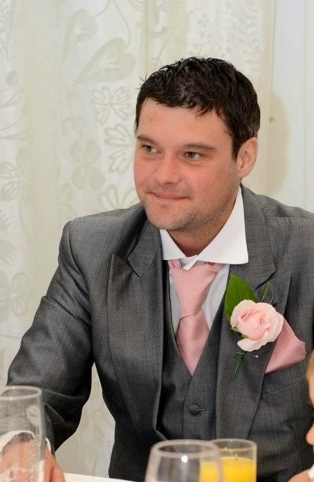 Lovely luke at Hollie and Kevin's wedding,such a wonderful day xx