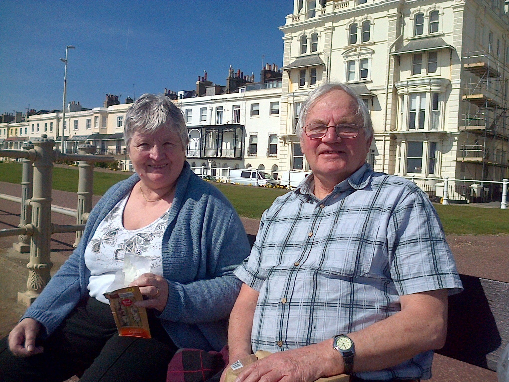 On the seafront at St Leonards