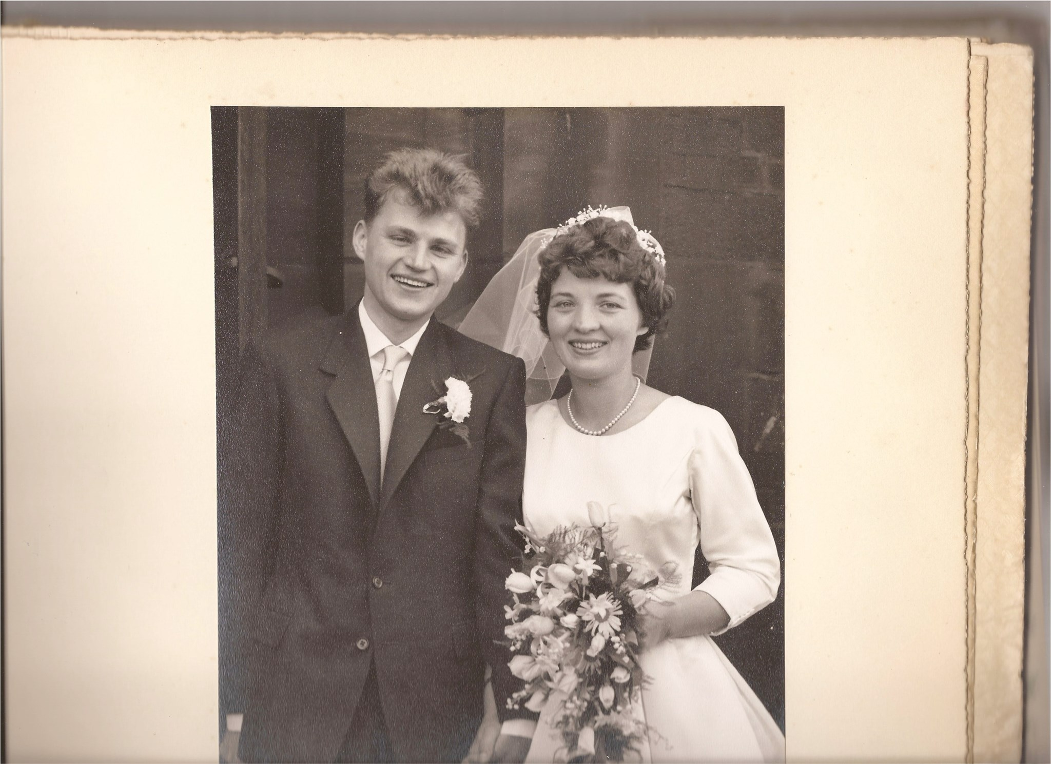 The Wedding Day, 20th June 1959 (I think!)