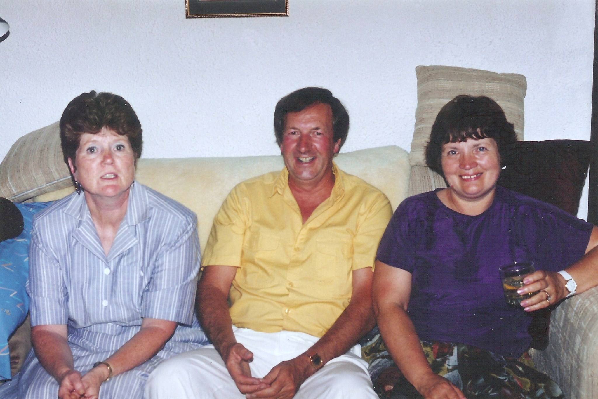 visiting Margaret and Clive in 1991