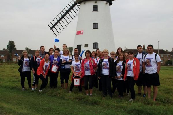 Brave Walkers from at Blackpool