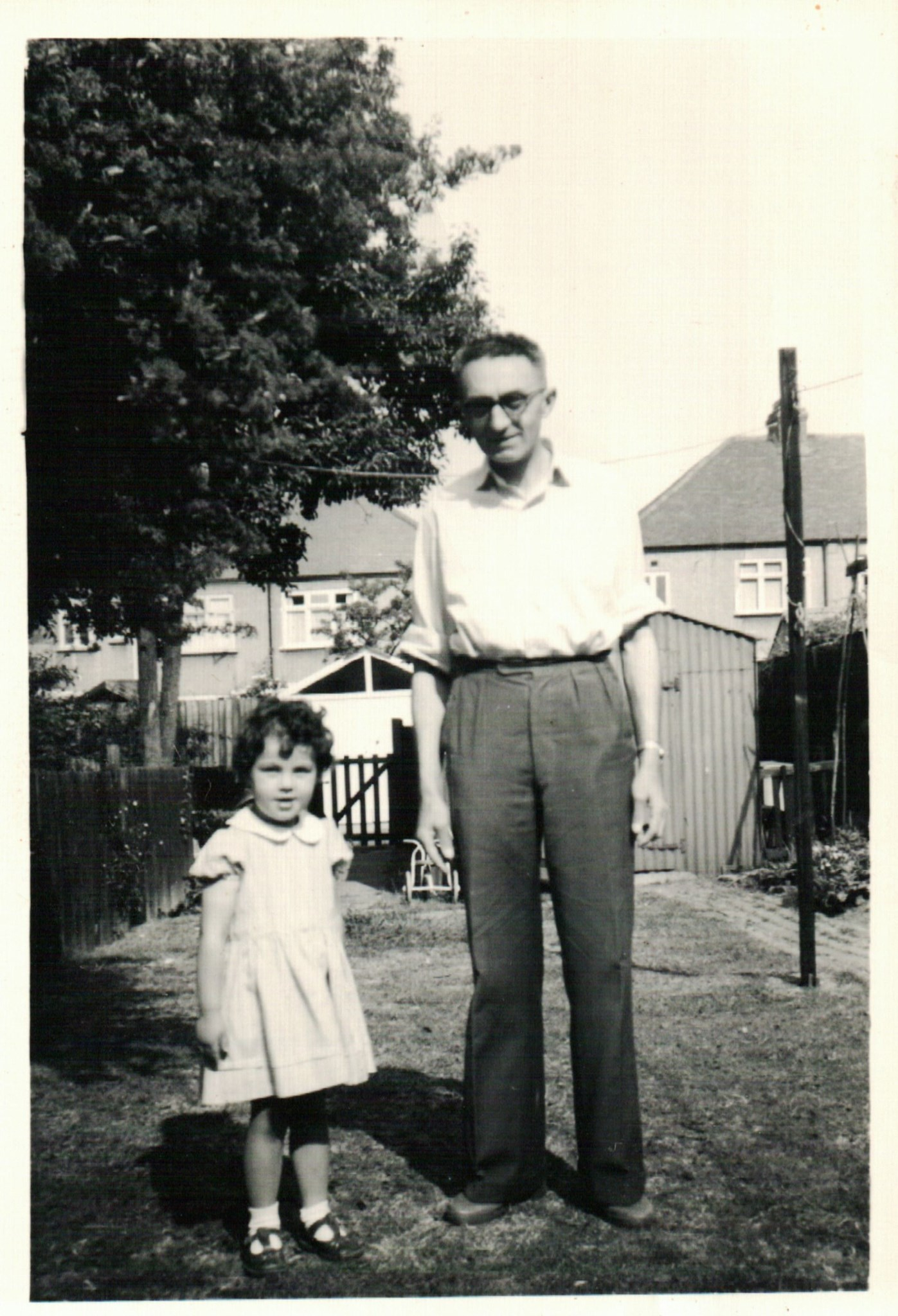 Dad with Julia