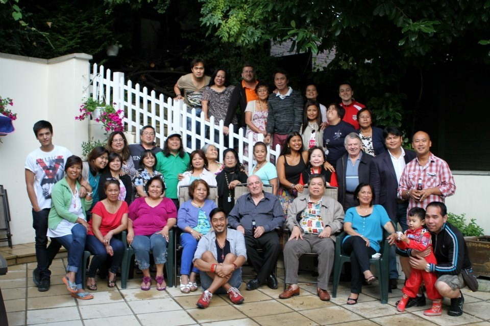with friends in the community and LK Family that were closed to Tita Esther's heart