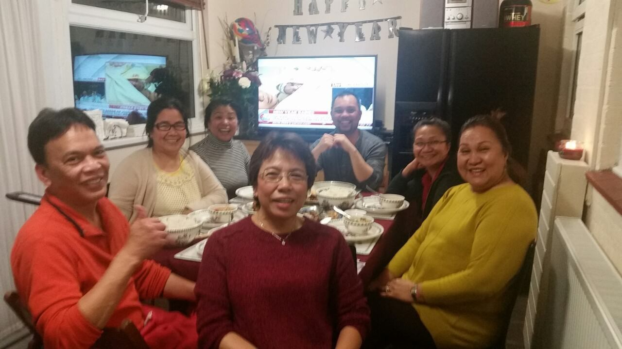 2016 New Years Day @ Malou's residence