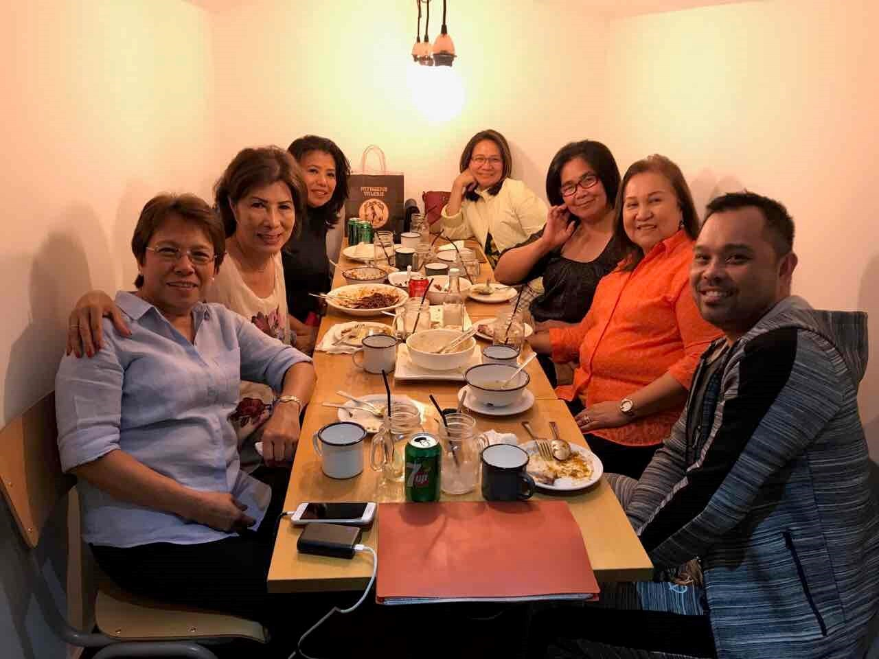 A Lovely night out with the Thursday Group/Angels @ China Town