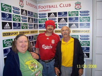 Marilyn at Anfield!