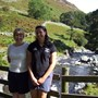 Judith and Jen in Lakes sunshine