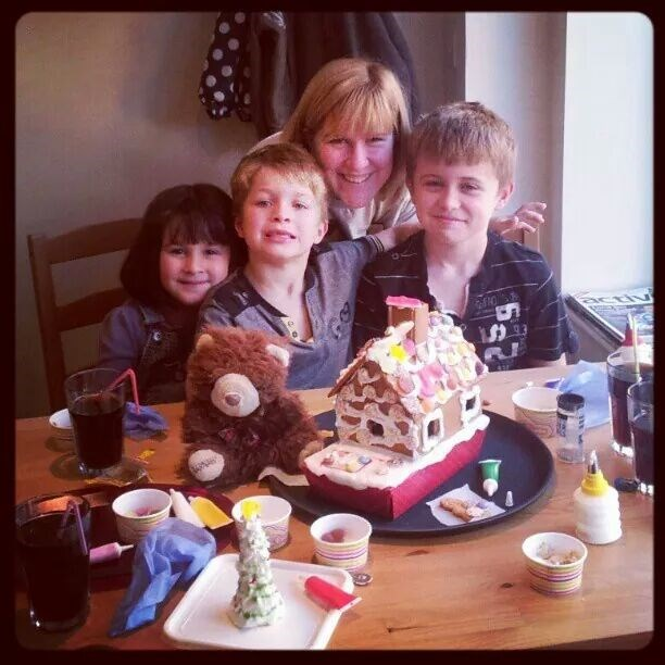 michelle with her children James, Dylan and Megan, having lots of fun as always!!