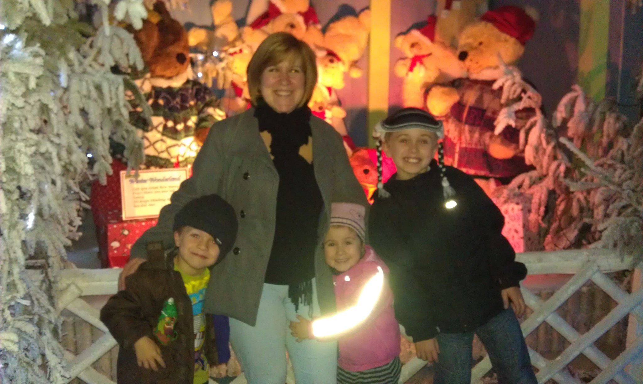 michelle and her kids 2011
