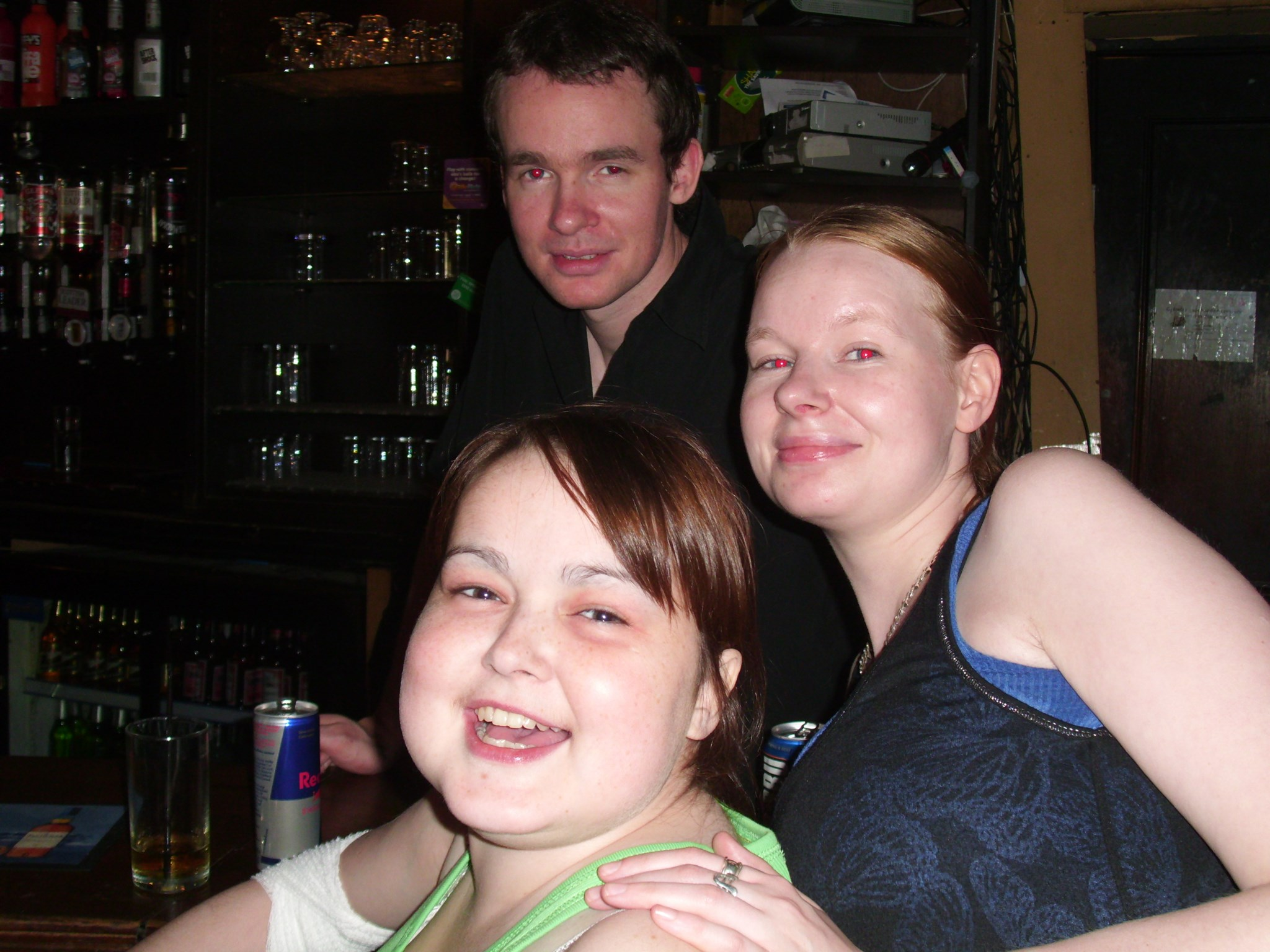 Louise, Simon and Tracy