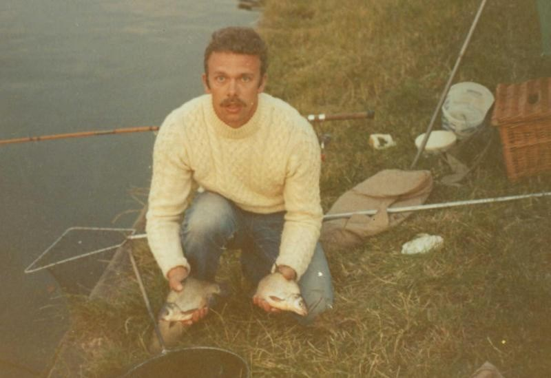 Dad fishing with me a fair few years ago now