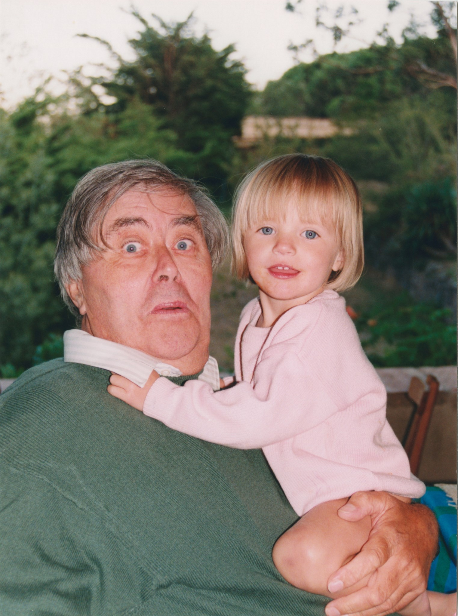 Dad and Maddie