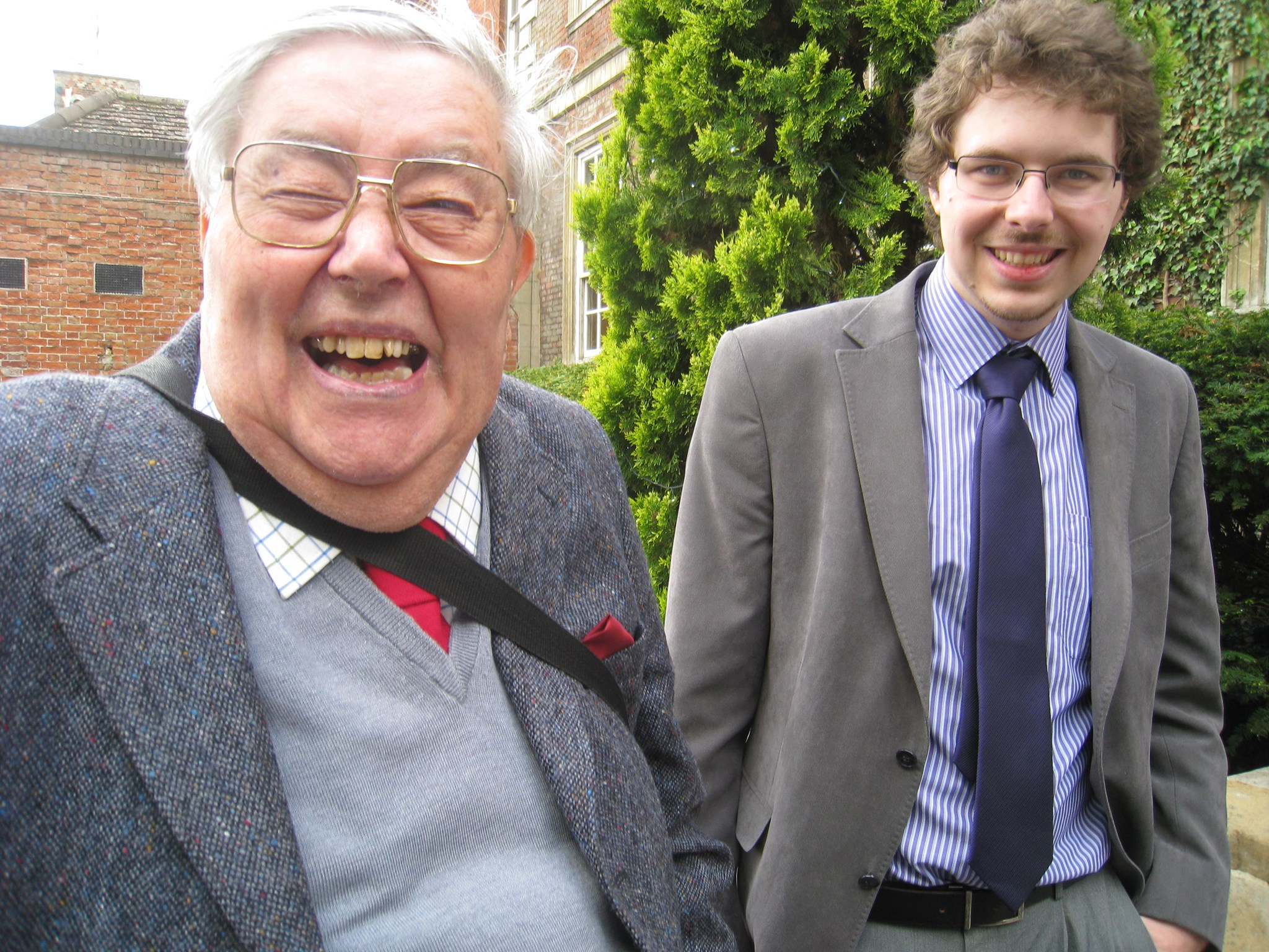 Cheeky Dad with Laurence