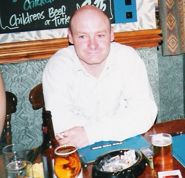 This photo was taken at his Grans 85th Birthday meal, Shaun would have been 30 years old