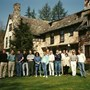 annie learning how to be an MD in troutbeck,USA  1990