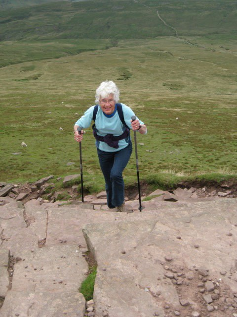 Scaling the Brecon Beacons