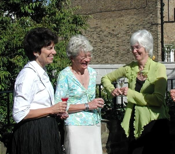 Jane, Beverly and Sheila at an NHA party