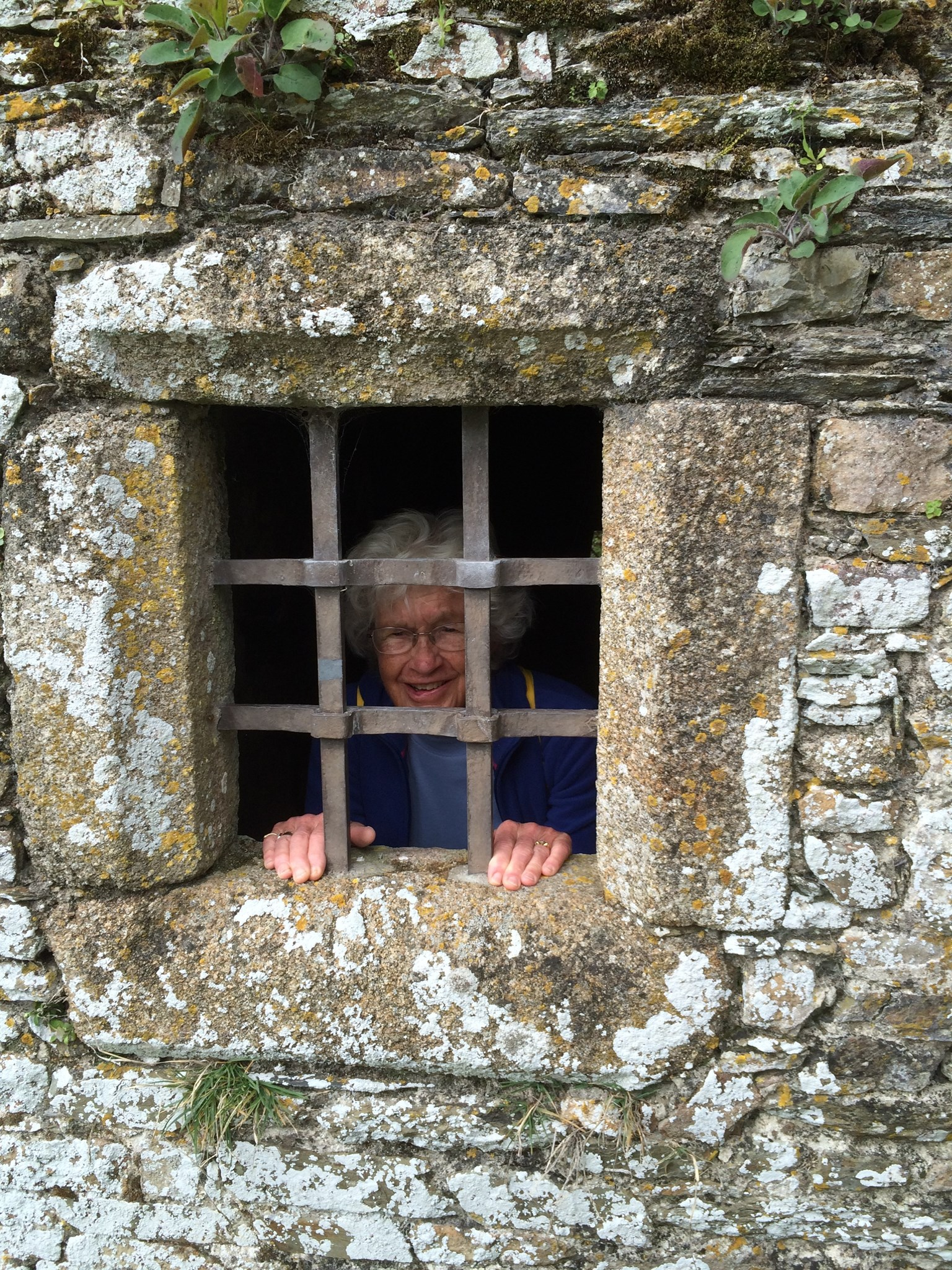 April 2014 - Quango Trip to Normandy - Chateau de Pirou - I promise we let her out again