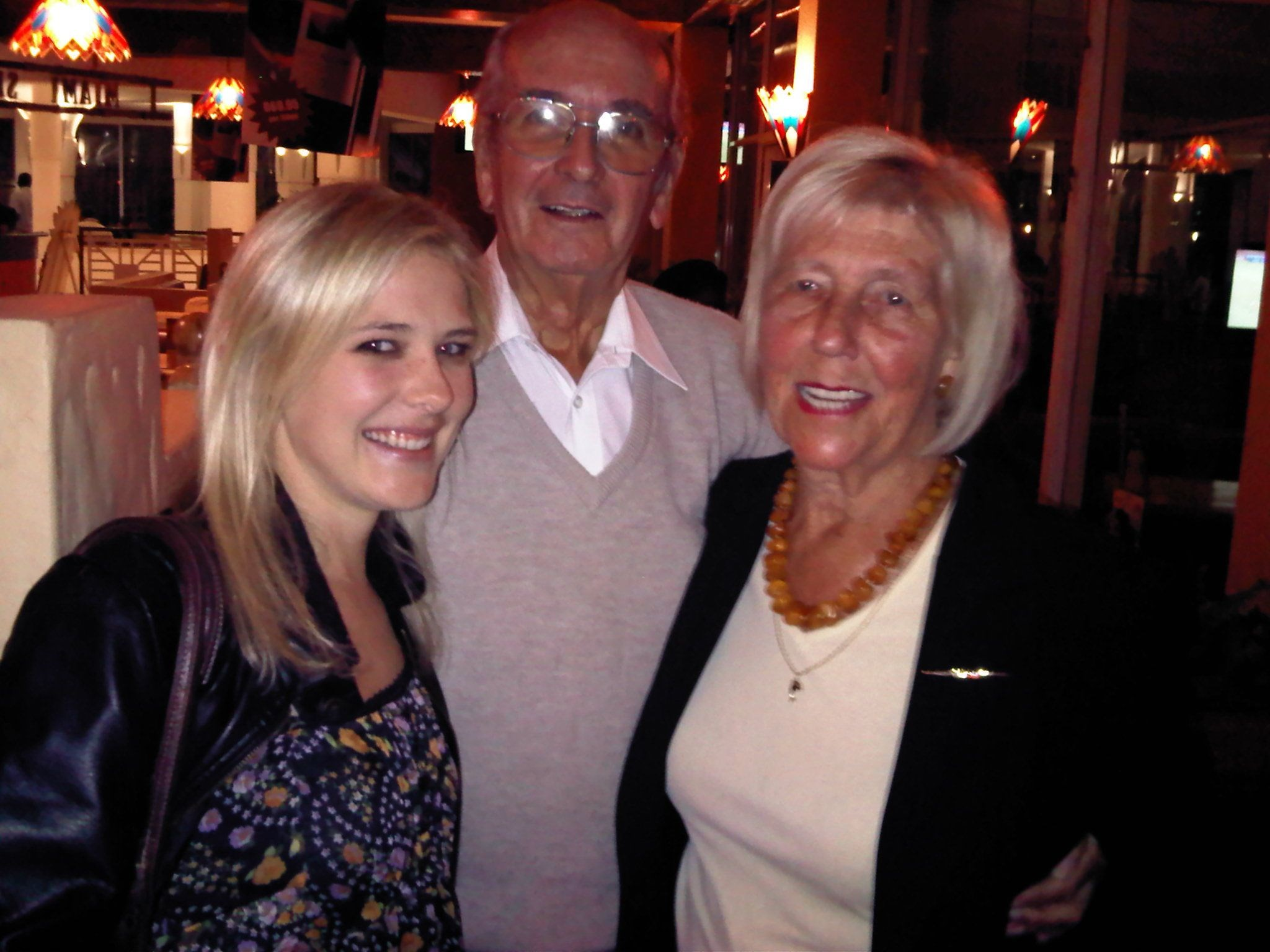 Dad, Cecilia and her grand-daughter