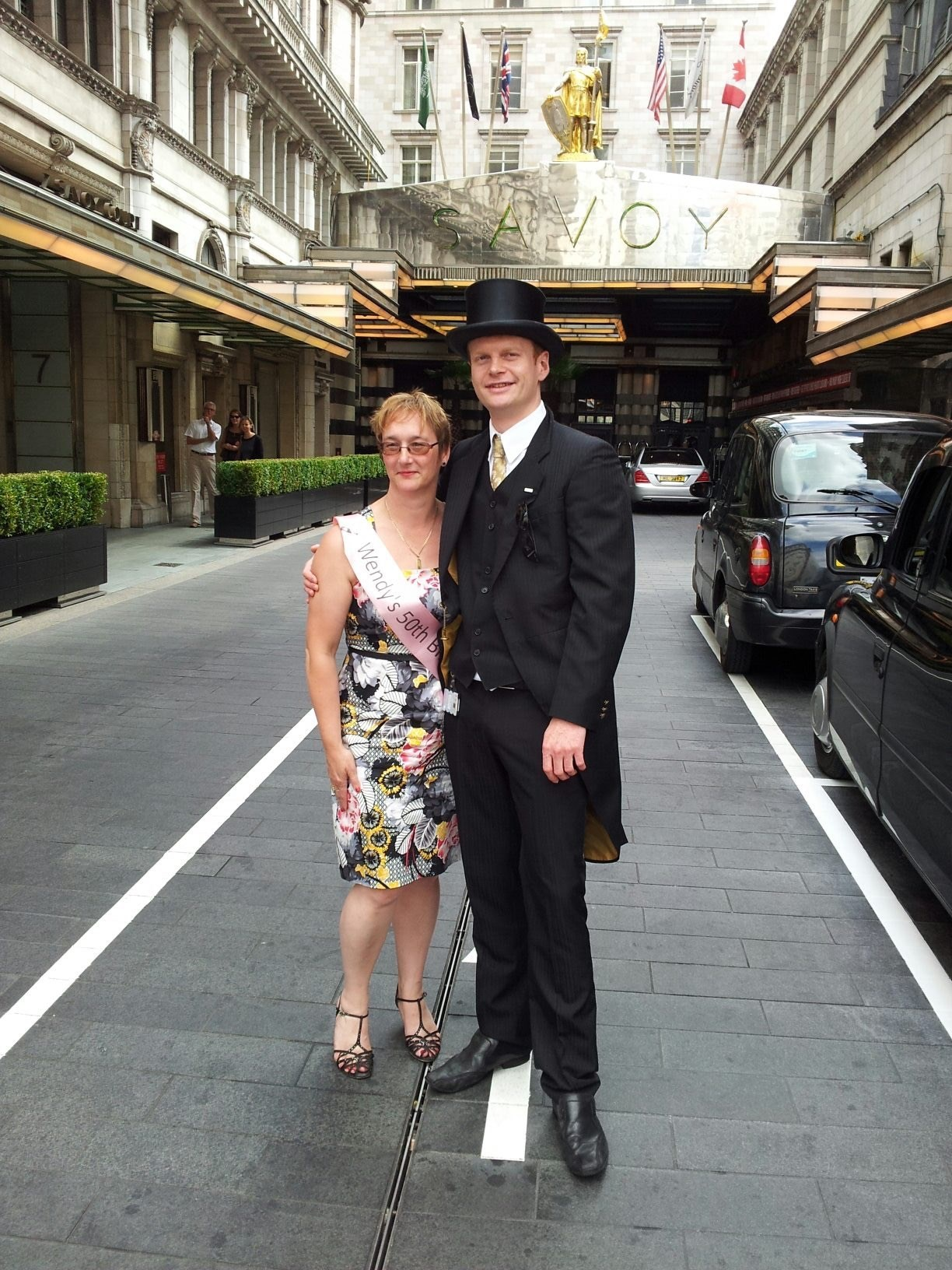 Wendy's 50th Savoy Hotel London July 2013