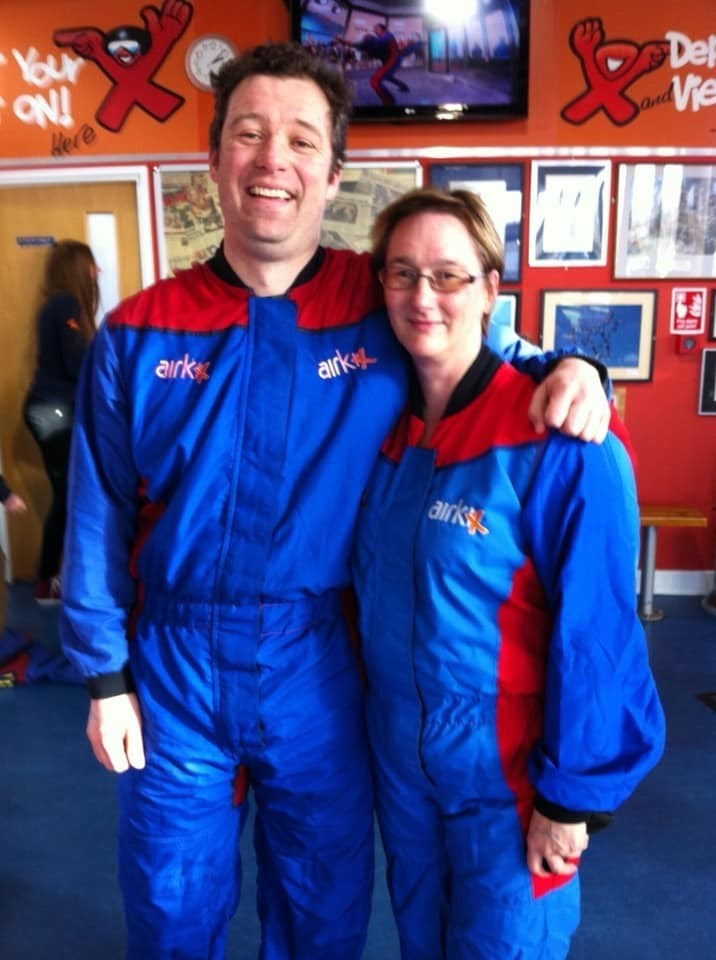 Ross & Wendy - Sky Dive Air Tunnel Experience