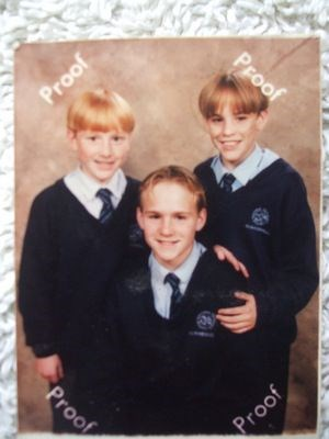 Our boys : This must have been about 13 years ago