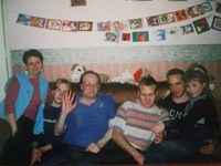 Family Meese. Em's nearly 21 now, so taken about 10years ago?
