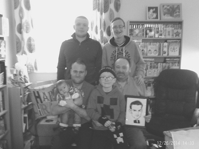 The Meese Men Christmas 2014