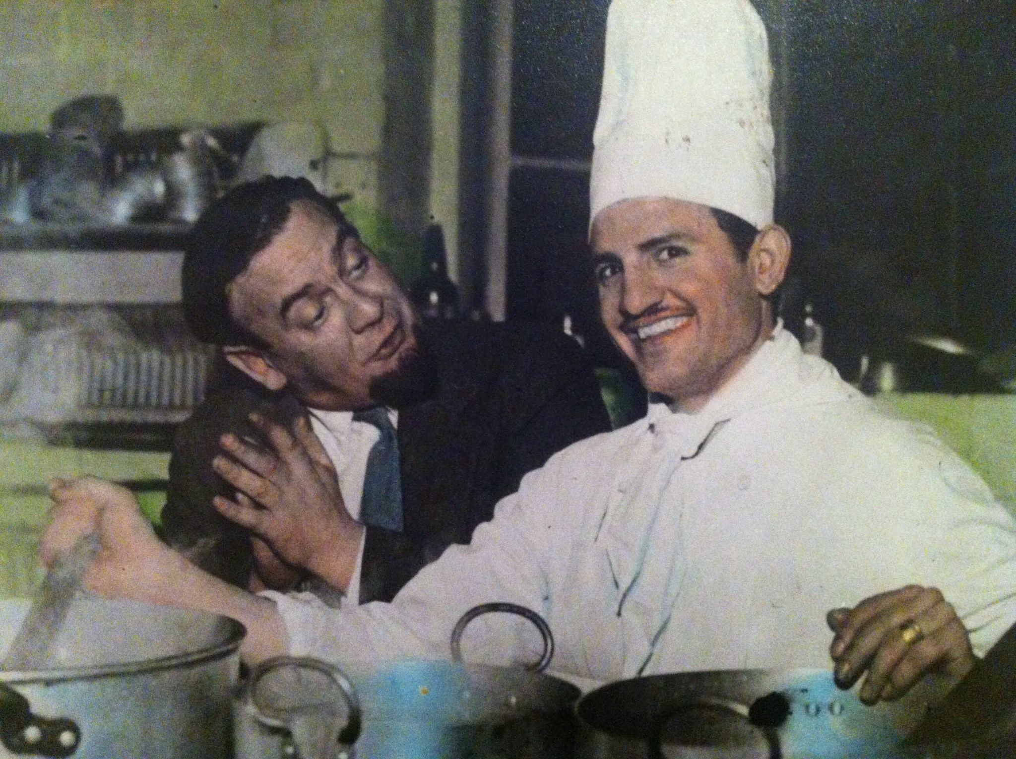 Pappou when he was a chef at Olympia restaurant in Birmingham. Taken in the 50's.