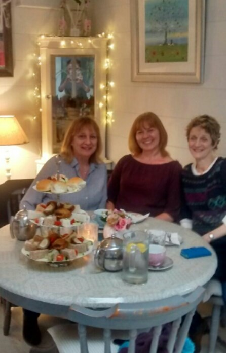 Afternoon tea for Mary,s birthday October 2016