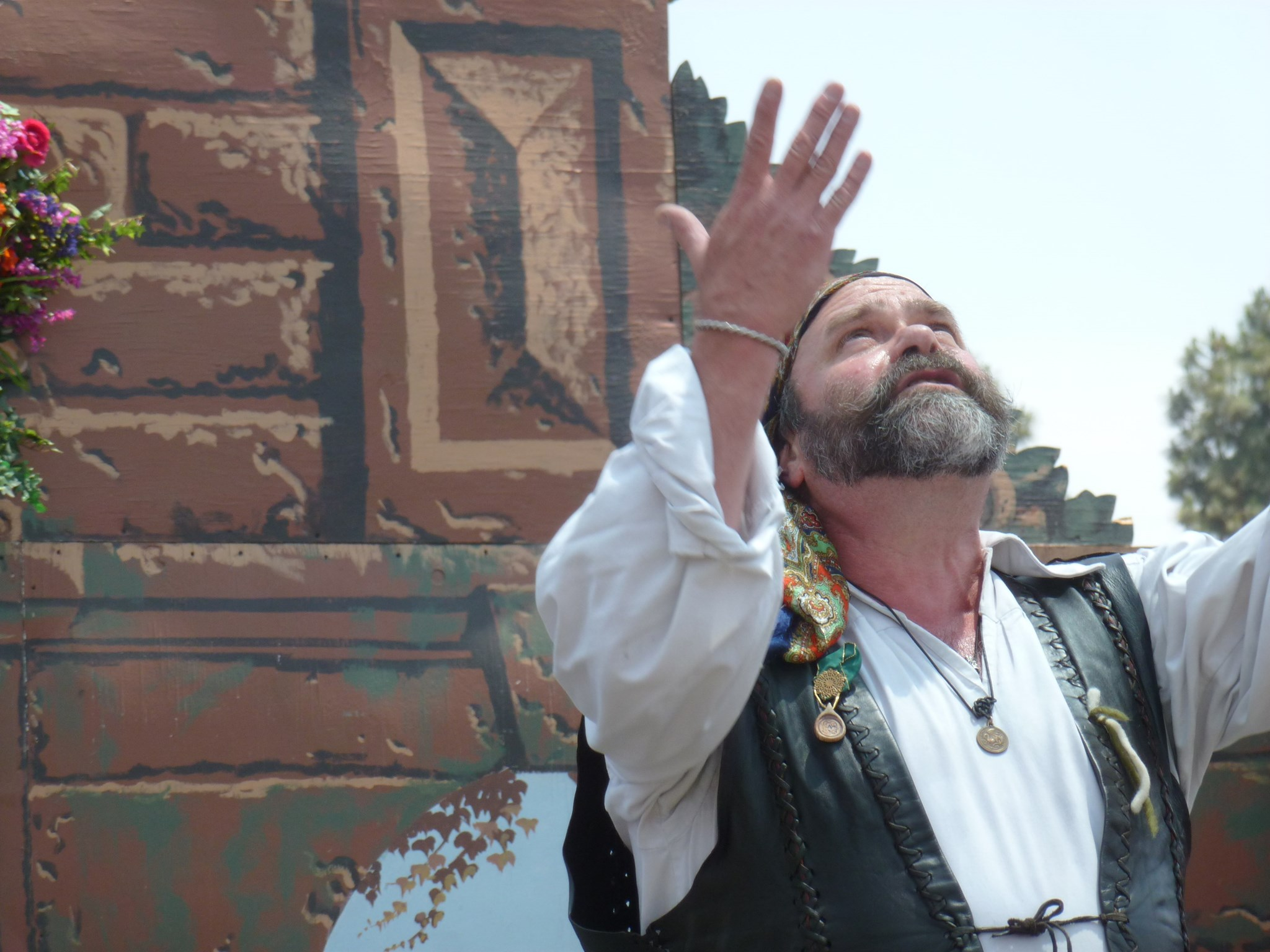 Mark Lewis once again on stage at Faire in Broad Daylight