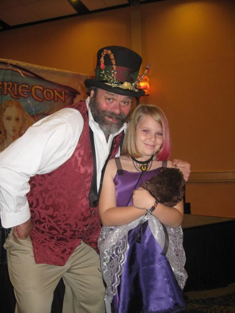 Mark with my daughter Katie at Faeriecon 2011.