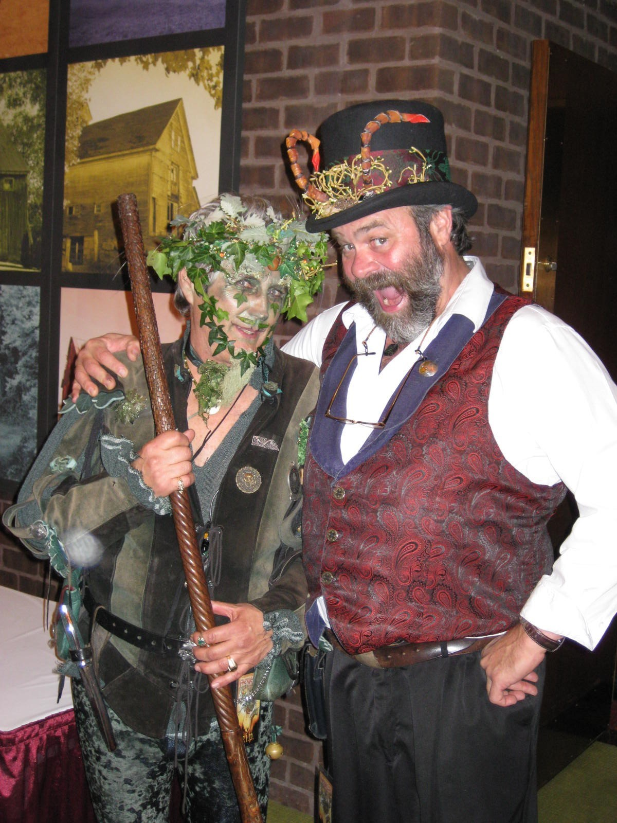 Billy Scudder and Mark FaerieCon 2009