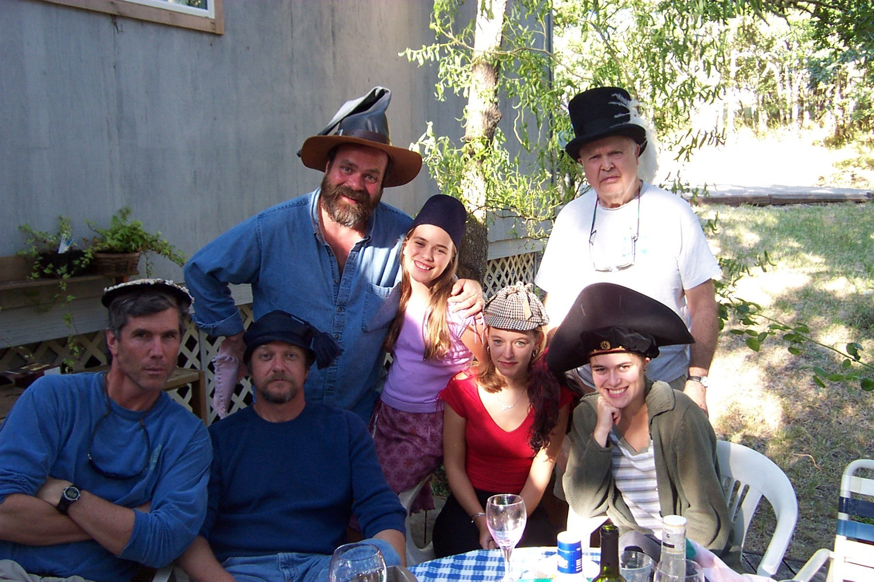 Eugene Clan and Silly Hats... a theme