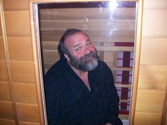 Markle trapped in our Sauna!! We finally got him for ourselves!