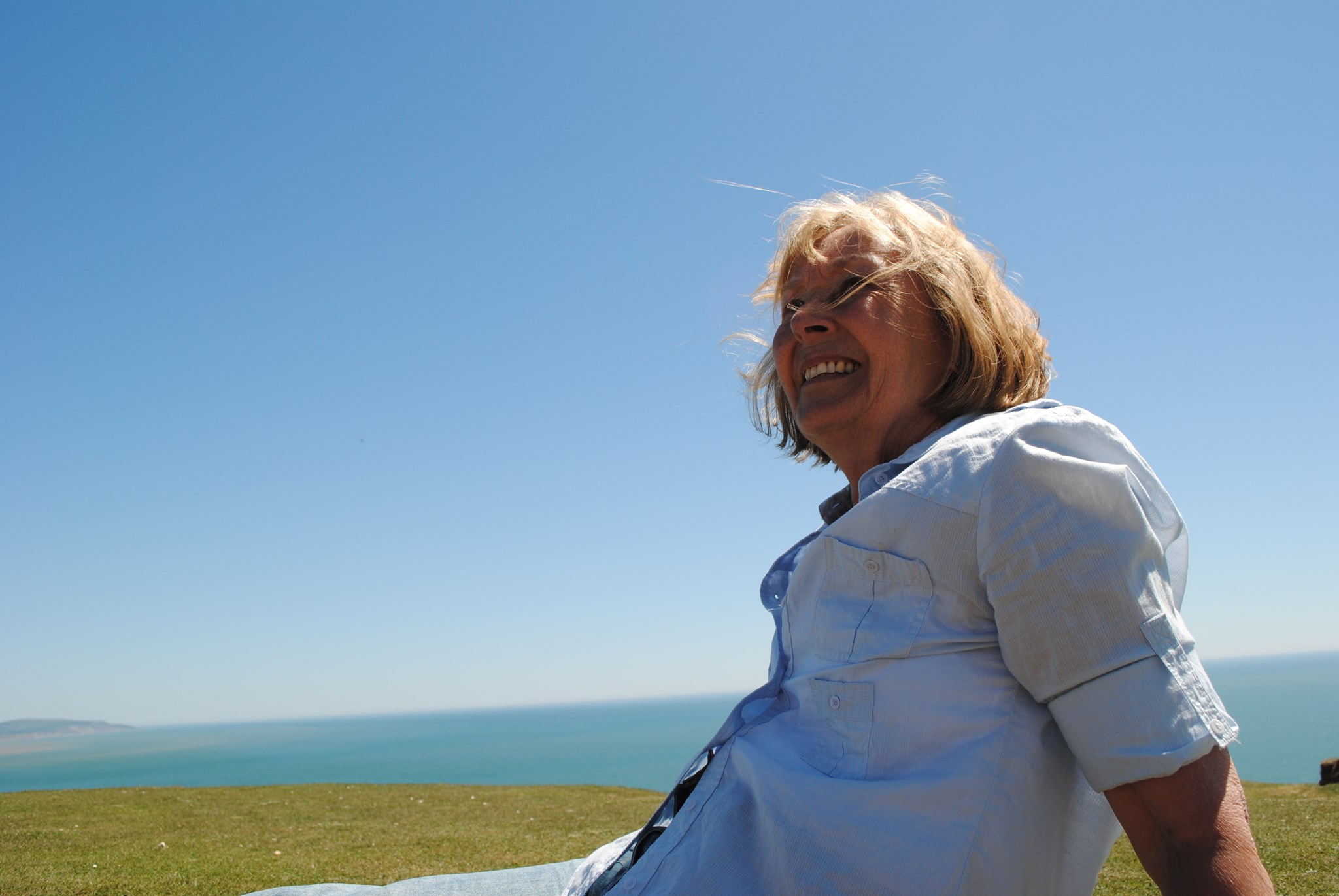 Mum on the Downs, Summer 2010