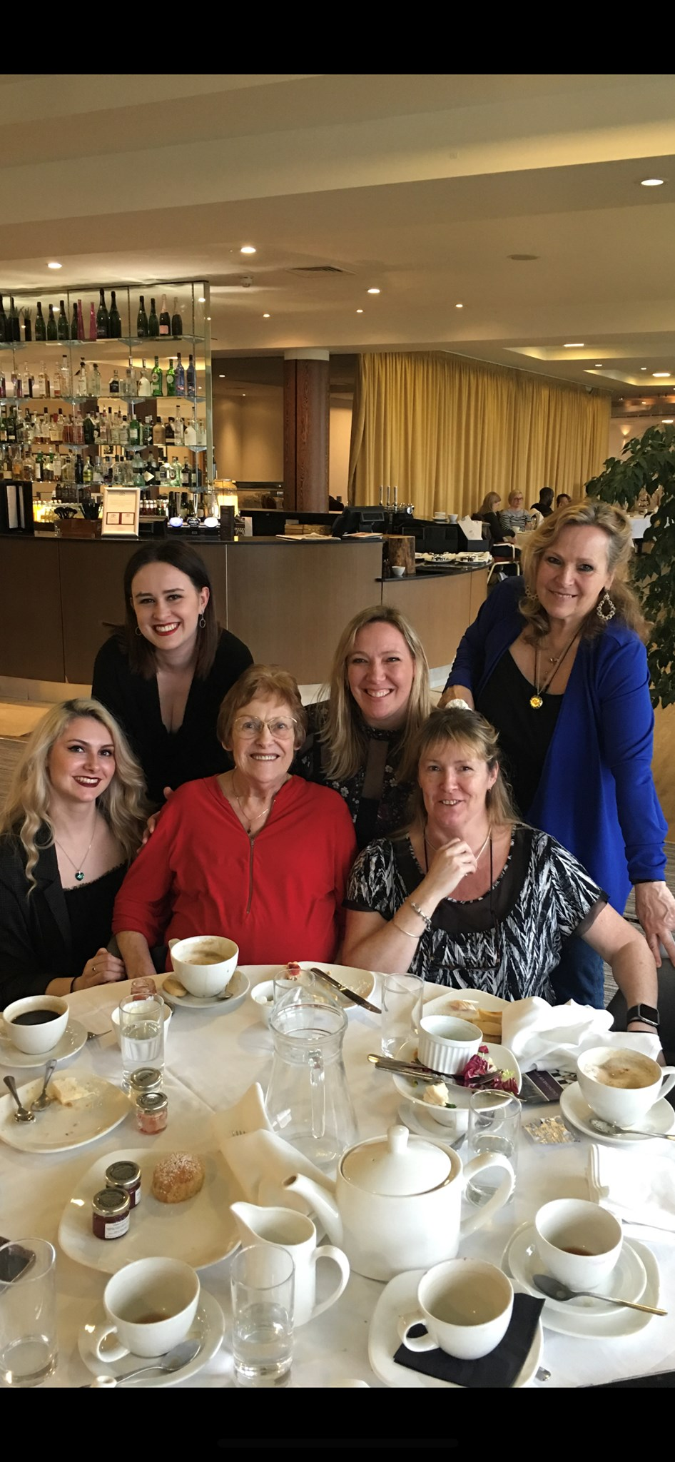East Sussex Gold Club girls afternoon tea