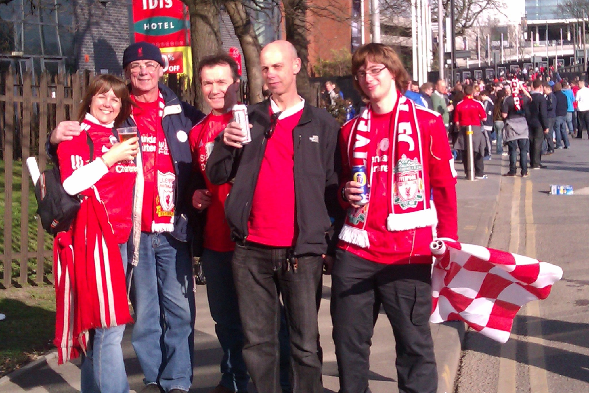 cheers NEW Wembly 26/02/2012