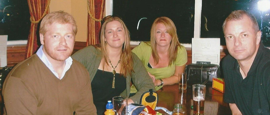 There will always be four of us, love and miss you so very much xx